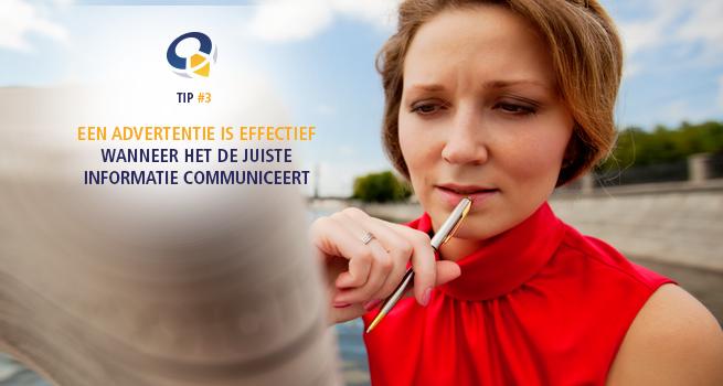 7 punten om een advertentie te laten communiceren