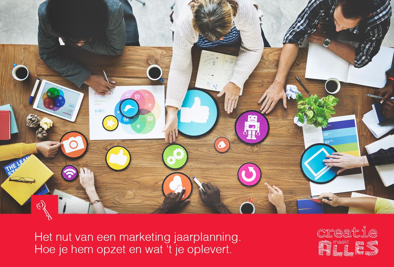 Het nut van een jaarplanning voor MKB marketing