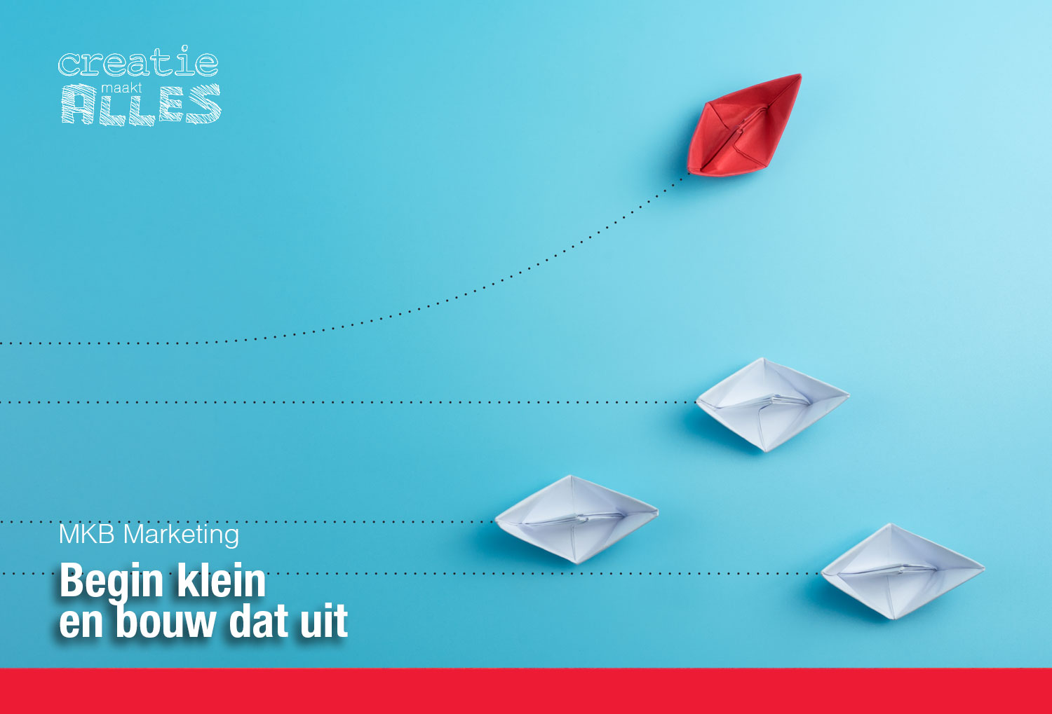MKB marketing: begin klein en bouw dat uit