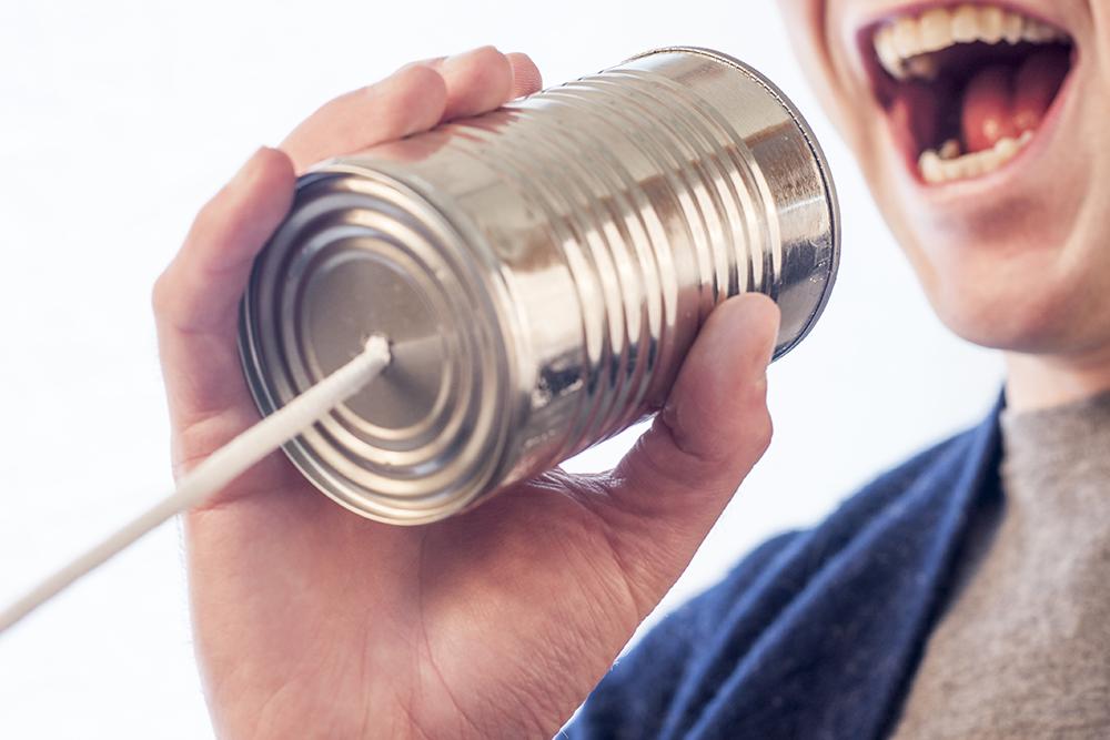 Wees duidelijk naar wie je communiceert