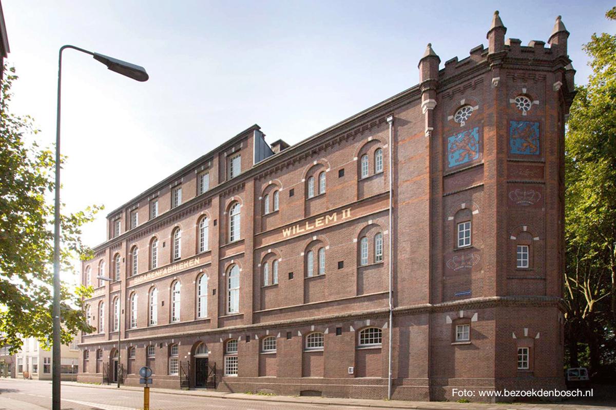Nieuw kantoor Creatie Maakt Alles in 's-Hertogenbosch